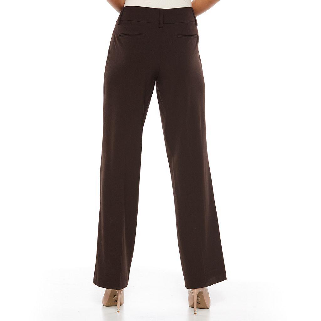 AB Studio Milan Straight-Leg Dress Pants - Women's
