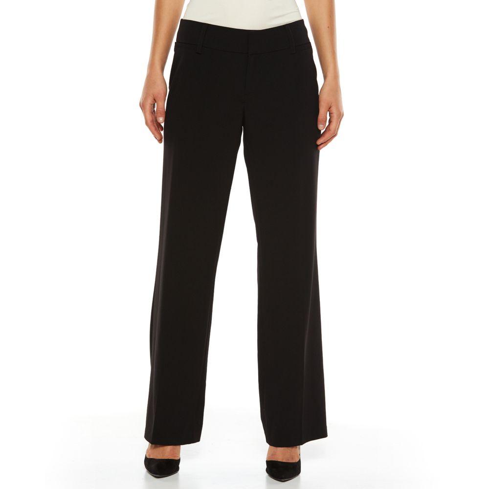 Studio Milan Straight-Leg Dress Pants - Women's