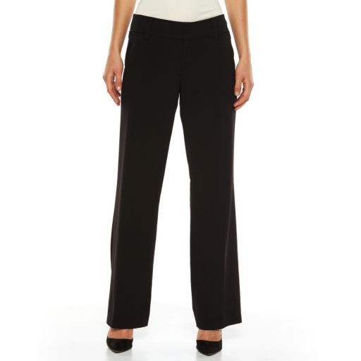 AB Studio Milan Straight-Leg Dress Pants - Women's