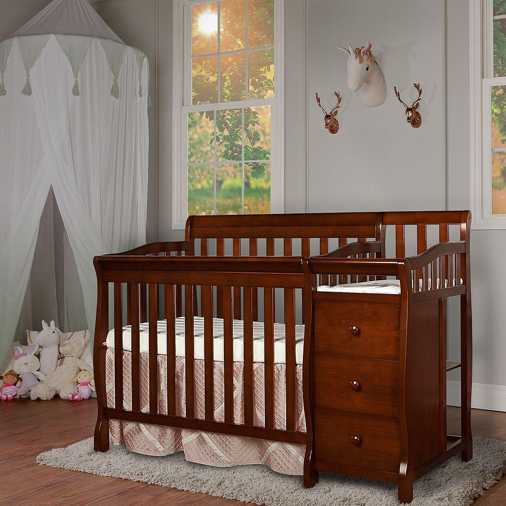 Dream On Me Jayden 4-in-1 Mini Convertible Crib & Changer