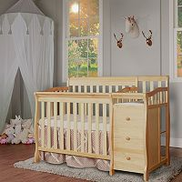 Dream On Me Jayden 4-in-1 Mini Convertible Crib & Changer