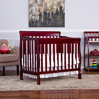 Dream On Me Aden Convertible Mini Crib