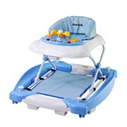 Dream On Me Dynamic 2-in-1 Rocker and Walker - Light Blue