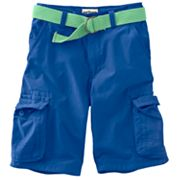 Urban Pipeline Belted Colored Cargo Shorts - Boys 8-20 Husky