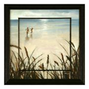 ''Sand Grasses 1'' Framed Wall Art