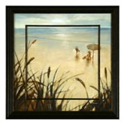 Sand Grasses 2 Framed Wall Art