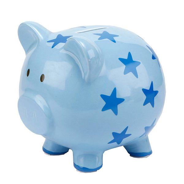 C R Gibson Star Piggy Bank