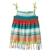 Mudd Striped Fringe Tank - Girls 4-6x