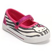 Hello Kitty Lil Lindy Zebra Mary Janes - Toddler Girls