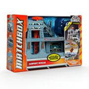 Matchbox Cliff Hanger Airport Rescue Playset by Mattel