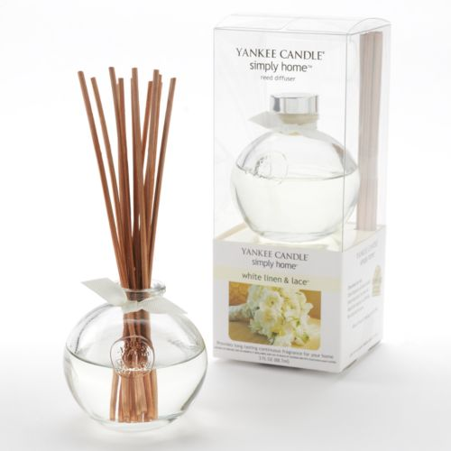 Yankee Candle simply home 14-pc. White Linen & Lace Reed Diffuser Set