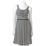 Apt. 9 Striped Empire Dress