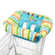 Taggies Tag 'n Go Striped Cart and High Chair Cover