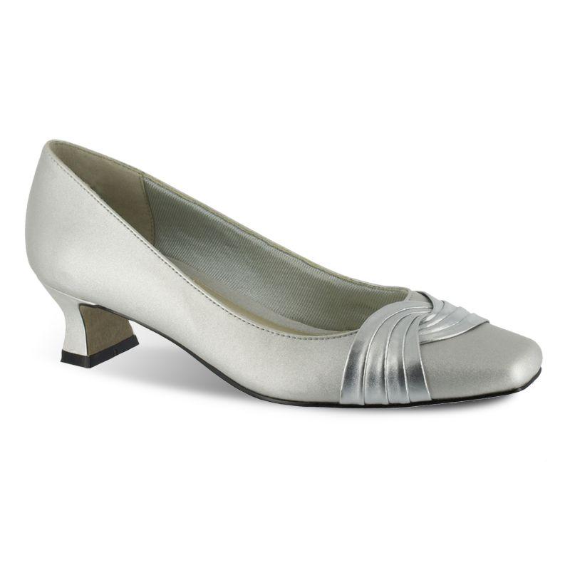 Original Womens Low Platform Heel Sandals Embellished Drop Strap Dress Shoes