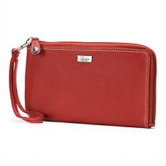 Buxton Westcott Expandable RFID-Blocking Leather Wallet
