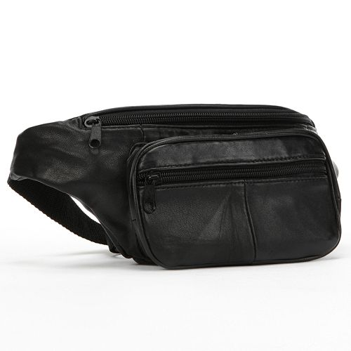 Buxton Bix Leather Fanny Pack
