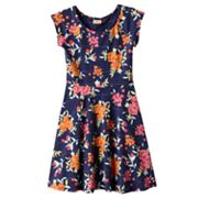 Mudd Floral Striped Sundress - Girls 7-16