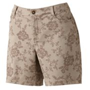 Croft and Barrow Floral Denim Shorts