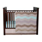 Trend Lab 3-pc. Cocoa Mint Crib Set