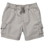 Carter's Checkered Cargo Shorts - Baby