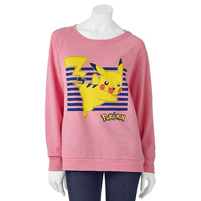 Mighty Fine Pikachu Sweatshirt - Juniors