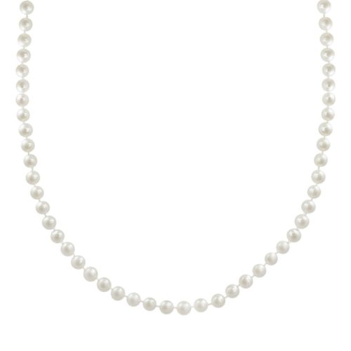 PearLustre by Imperial 10k Gold Freshwater Cultured Pearl Necklace - 18''