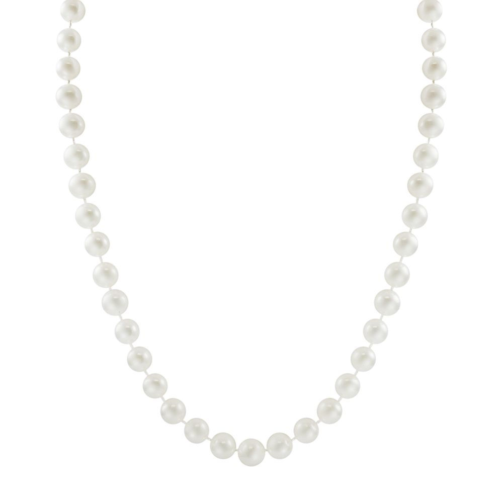 """PearLustre by Imperial 10k Gold Freshwater Cultured Pearl Necklace - 18"""""""
