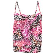 Dana Buchman Animal Tankini Top