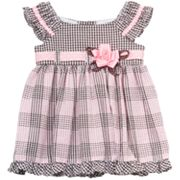 Rare Editions Ruffled Seersucker Dress - Toddler