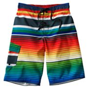 Hang Ten Striped Board Shorts - Boys 8-20