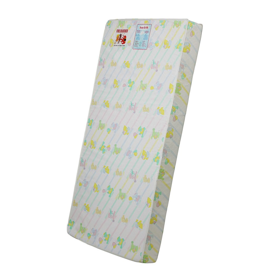 Dream On Me Quilted Foam Crib & Toddler Mattress