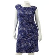 Dana Buchman Ruched Dress - Women's Plus