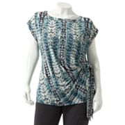 Dana Buchman Pleated Top - Women's Plus
