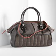 Simply Vera Vera Wang Sandy Crocodile Convertible Satchel