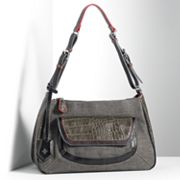 Simply Vera Vera Wang Kelly Crocodile Hobo