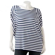 Dana Buchman Striped Batwing Top - Women's Plus