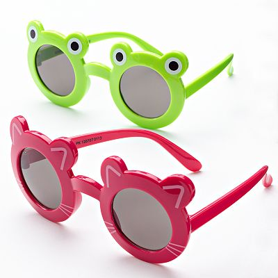Jumping Beans 2-pk. Round Critters Sunglasses - Girls