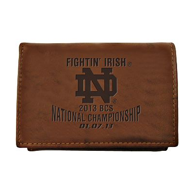 Notre Dame Fighting Irish BCS Bound Trifold Wallet - Men