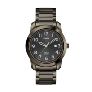 Timex Men's Highland Street Stainless Steel Expansion Watch - T2P135