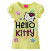 Hello Kitty Flower Tee - Girls 4-6x