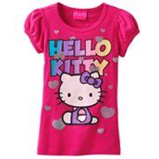 Hello Kitty Heart Tee - Girls 4-6x