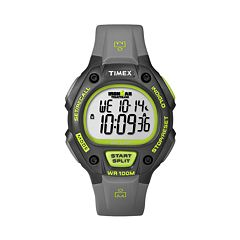 Timex Men's Ironman Triathlon Digital 30-Lap Chronograph Watch - T5K692