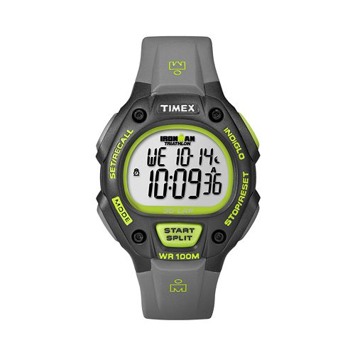Timex Men's Ironman Triathlon Digital 30-Lap Chronograph Watch - T5K692