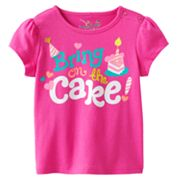 Jumping Beans Bring on the Cake Tee - Baby
