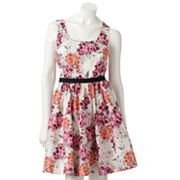 ELLE Floral Fit and Flare Sundress