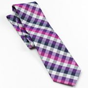 Croft and Barrow Gingham Checked Tie