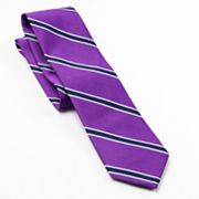 Croft and Barrow Bold Bar Striped Tie