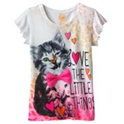 SO Love the Little Things Tee - Girls Plus