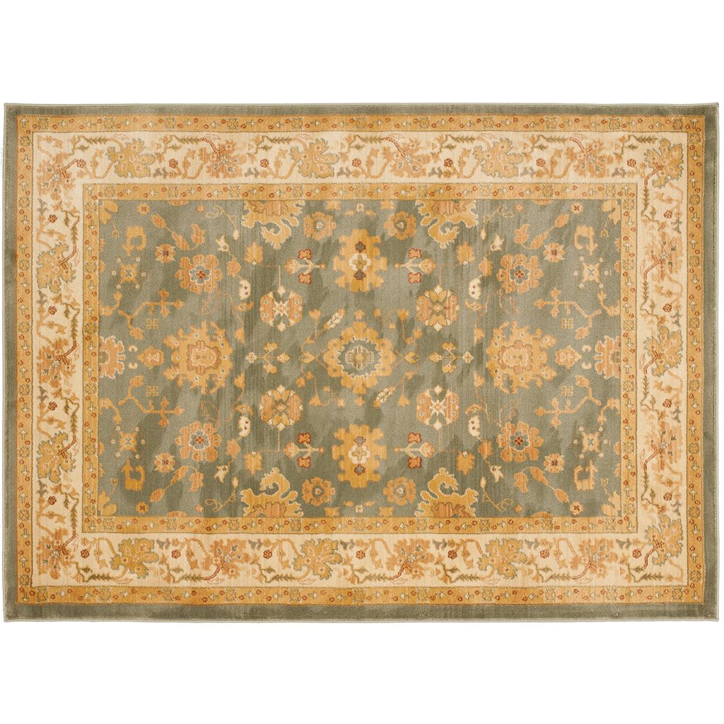 Safavieh Heirloom Framed Leaf Rug - 8' x 11'