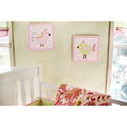 My Baby Sam 2-pk. Paisley Splash Pink Wall Art